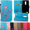 For Funda ZTE Zmax Pro Z981 Case Wallet Leather Flip Capa For Coque ZTE Zmax Pro Z981 Case Cover Hoesje Painted Phone Cases