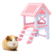 1pcs Pet House Supply New Fashionable Hamsters Toy Garret Colorful Beds Squirrels' Sleeping Loft Pet Toy Green Material(China)