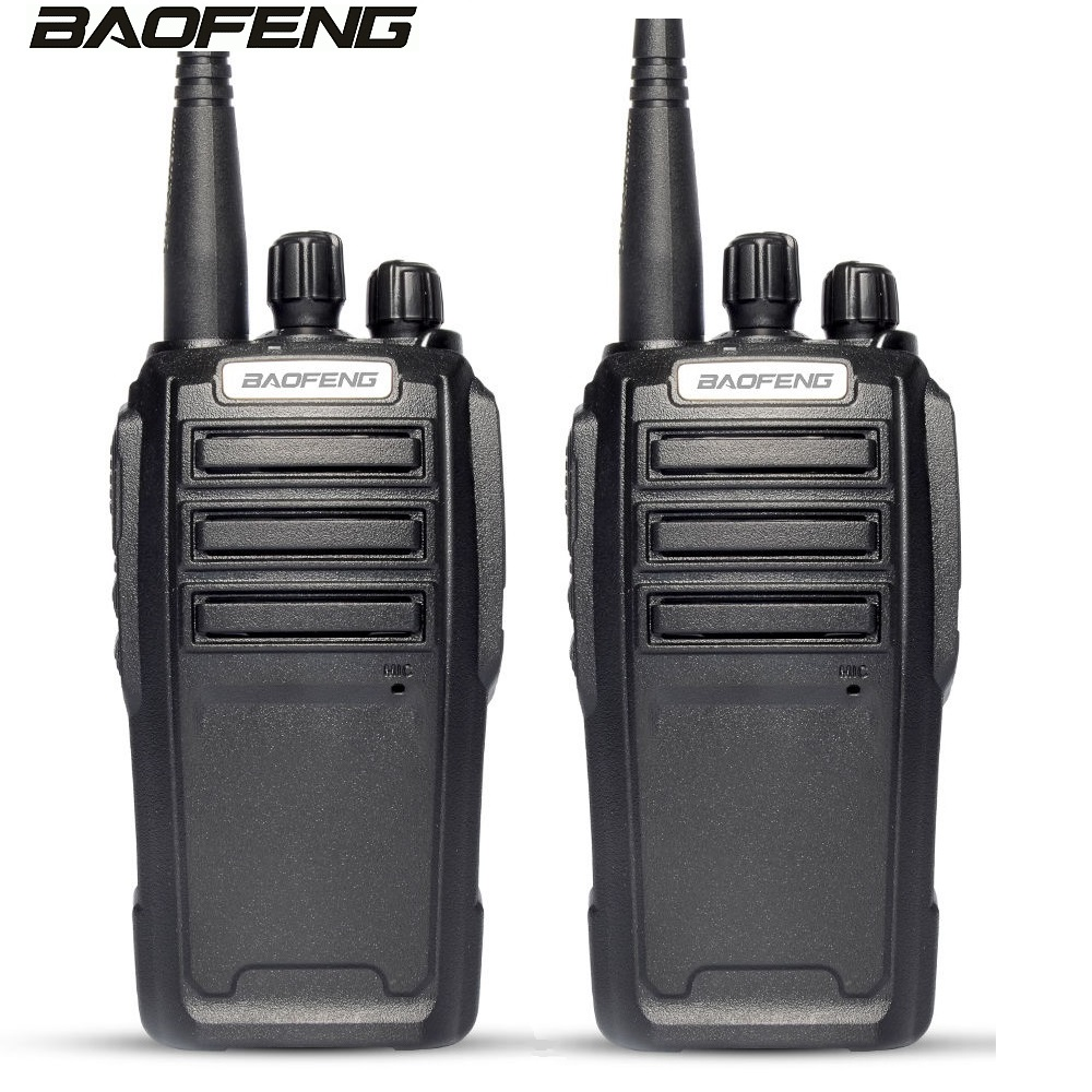 1 Pair BAOFENG UV 6 handheld Transceiver 136-174/400-480MHZ UHF/VHF 8W Transmit Power & PTT Headset ham Interphone Walkie Talkie1 Pair BAOFENG UV 6 handheld Transceiver 136-174/400-480MHZ UHF/VHF 8W Transmit Power & PTT Headset ham Interphone Walkie Talkie