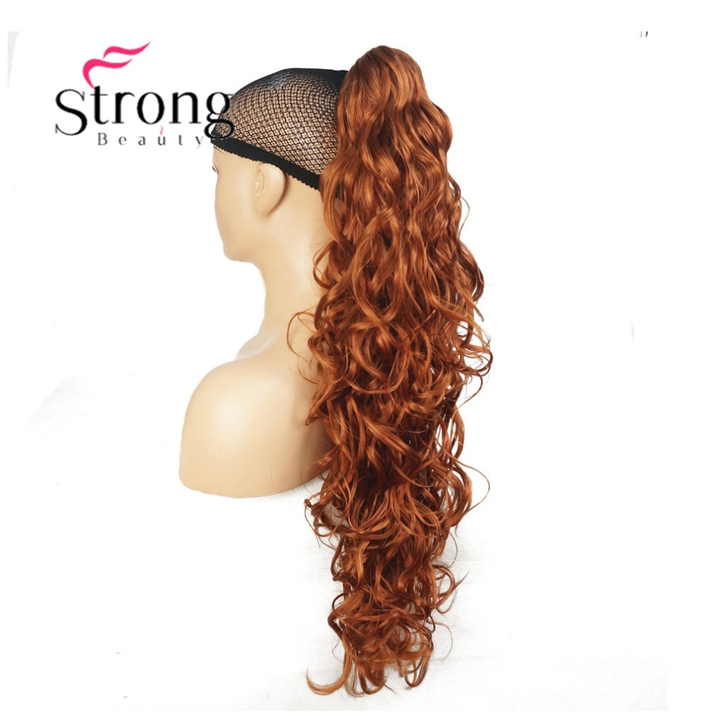 Image 5 - StrongBeauty Womens Ladies Girls Synthetic X Long W  Amazing shape Claw Clip Ponytail Pony Tail Hair Extensio COLOUR CHOICESSynthetic Ponytails   -