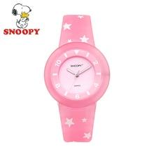 Snoopy Kids women Watch Children Watch Luminous watches Cool Cute Quartz Wristwatches Girls Sports Water resisitant Clock