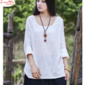 unique large size collar lady natural simple batwing sleeve dropper shoulder t-shirt