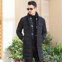 New Pioneer Camp Thick Winter Down Jacket Men Warm New Fashion Brand Clothing Top Quality Long