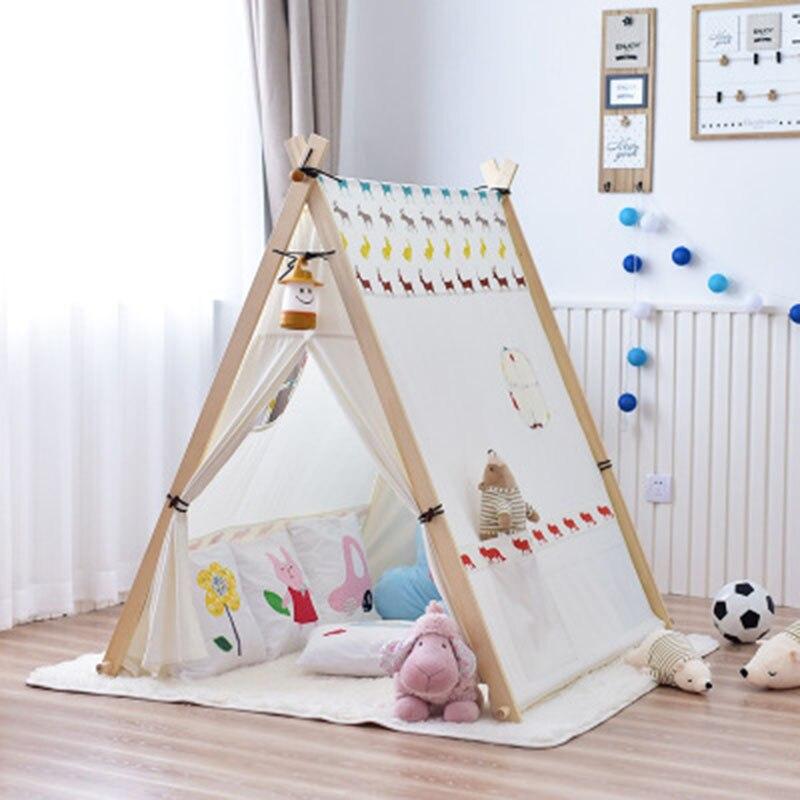 Детская палатка, большой Крытый игровой домик для мальчиков и девочек, игрушечный домик, Игровая палатка, большой раздельный артефакт, игро... - 3