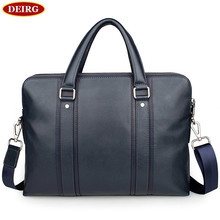Extreme British Style Genuine Leather Man Briefcase Men Business Handbag Laptop Bag Fit For 15 Inch Computer PR087325