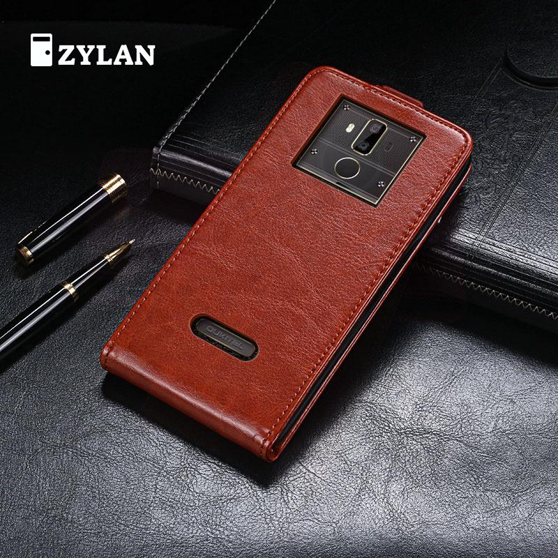 ZYLAN Flip Book Design Protect Leather Cover Shell Wallet Etui Skin Case For OUKITEL K7 6 inch & FREE GIFT