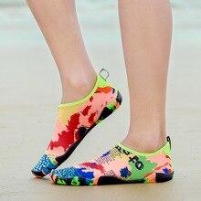 2019 летние унисекс быстрое высыхание воды обувь пляжная обувь для мужчин и женщин босиком тапочки для бассейна рыбалка сёрфинг Спортивная