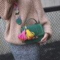 Bolsa feminina искусственная замша небольшой лоскут сумка женская кнопка блокировки плечо сумки дизайнер бренда женщины сумка ретро crossbody мешок