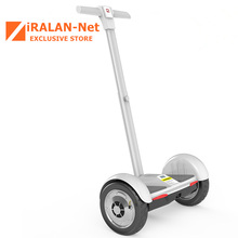 IRALAN A8 10-inch Scooter Electric Self Balancing Two Wheel Smart Standing hoverboard Skateboard with handlebar hover board