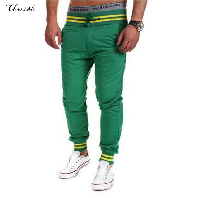 Top moda 2017 mens pant joggers fitness pantalon homme pantalones casuales pantalones deportivos pantalones flojos