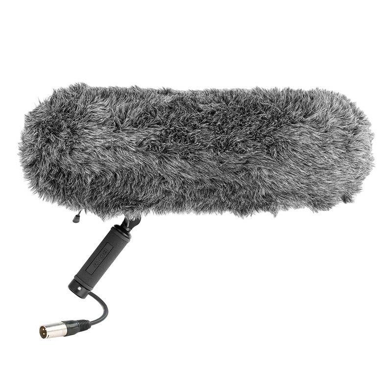 BOYA BY-PVM1000 PVM1000L Professional Shotgun Microphone WS1000 Windshield Shock Mount Suspension System for Recording Interview
