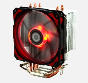 ID-Cooling SE-214 4pin PWM 120mm CPU cooler fan 4 heatpipe cooling for LGA1151 775 115x FM2+ FM2 FM1 AM3+ CPU Radiator
