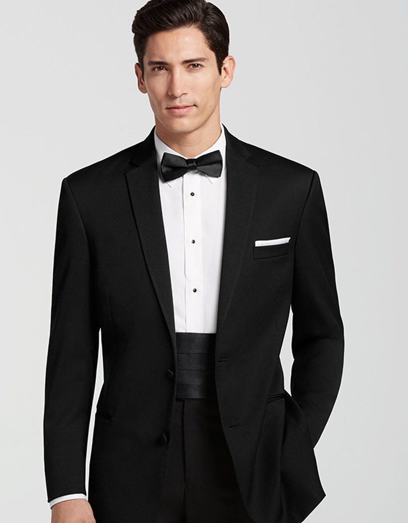Classic style Mens Modern Fit Suit Single Breasted Center