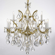 Modern Classic Maria Theresa Crystal Chandeliers Hanging Lighting LED Lamp Cristal Glass Chandelier Light for Home Hotel Decor