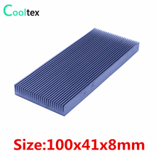 (Special offer) 100x41x8mm Aluminum HeatSink radiator Heat Sink  for Electronic Chip RAM LED cooling  cooler