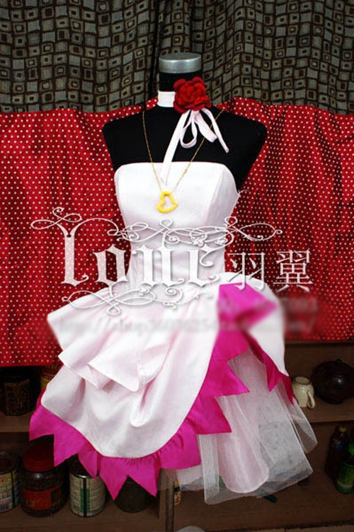 MACROSS F Ranka Lee Cosplay Costume Halloween Party Lolita Dress Custom-made Any Size Anime Clothing 22cm japanese version macross f 30th anniversary commemorative edition ranka lee pvc action figure gift for boys