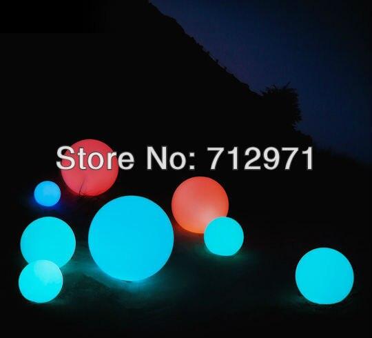 ФОТО 20 cm outdoor led ball/led globe/led sphere 16colors