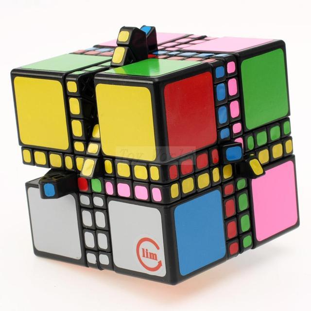 Fangshi Divertimentos LimCube Mestre Mixup Magic Cube Puzzle Educacionais Para crianças Garoto-Tipo 1/2/4 Cubo magico kub Juguetes boa presente