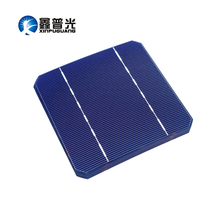 40PCS 2.8W Solar Cell Mono PV Photovoltaic 110W 100W Solar Panel Kit 19% 125*125MM Monocrystalline Silicon DIY Solar Cells 5X5 silicon nanowires for hybrid solar cells