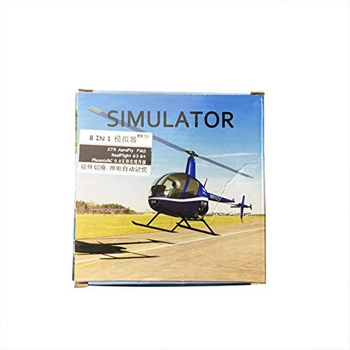 10 PCS LOT 8in1 XTR Aerofly1 1 FMS G3 G4 PhoenixRC5 USB Flight Simulator Cable for Futaba ESky JR WFLY 4 8Ch Skill Traning in Simulators from Toys Hobbies
