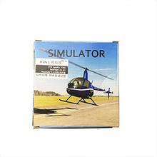 10 PCS/LOT 8in1 XTR, Aerofly1.1, FMS,G3 G4, PhoenixRC5 USB Flight Simulator Cable for Futaba ESky JR WFLY 4-8Ch Skill Traning