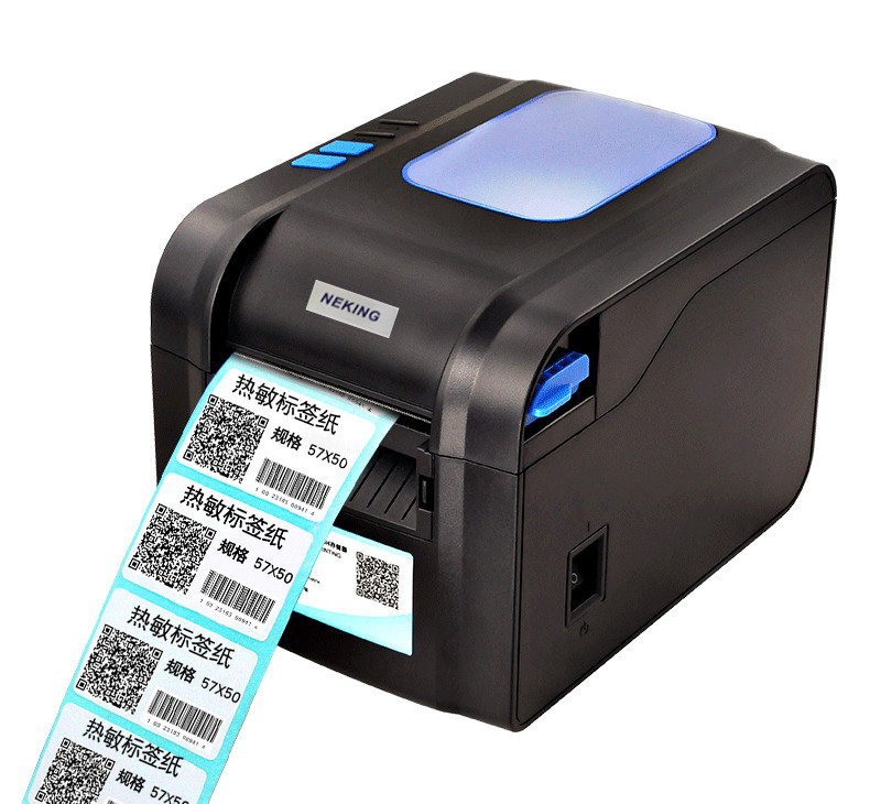 370Bthermal bar code non-drying label printer clothing tags supermarket price sticker printer Support for printing 22-80 mm widh купить бритаского голубого котенка спб