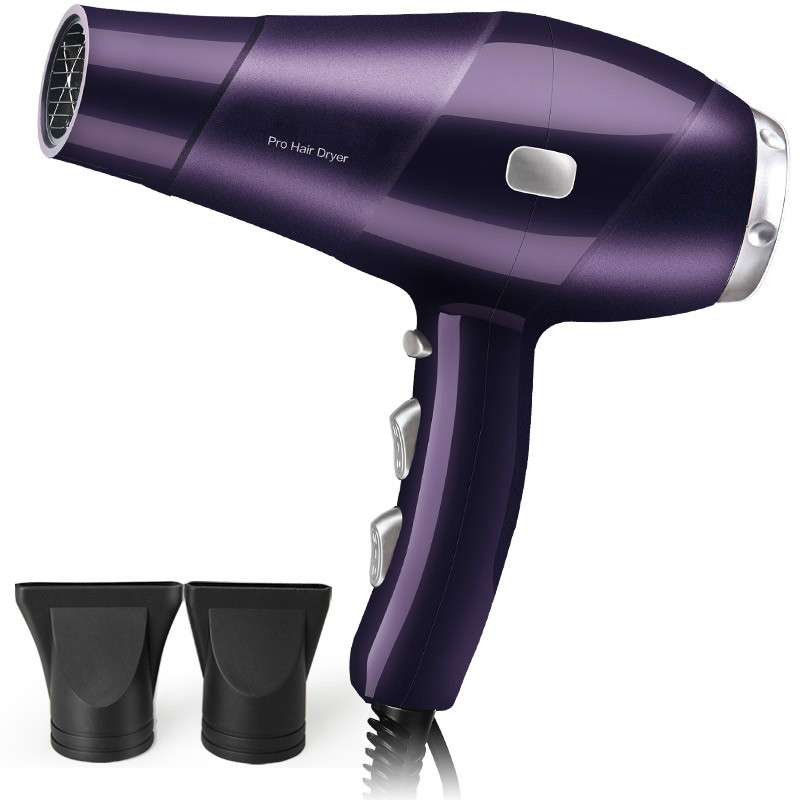 все цены на Hair Dryers barber shop high-power dryer salon professional hot and cold wind household thermostat air duct 2300W онлайн
