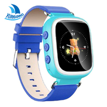 2016 Smart Safe GPS 1.44 Inch Colorful Oled screen Wristwatch SOS Location Finder Tracker for Kid Child Watch Anti Lost Monitor