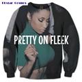 PLstar Cosmos free shipping WOMENYAX new Fashion Men Women Sweatshirt Nicki Minaj pretty on fleek 3D Print Long sleeves pullover