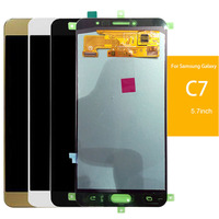SzHAIyu For C7 LCD Super AMOLED LCD Display Touch Screen For Samsung Galaxy C7 C7000 Screen