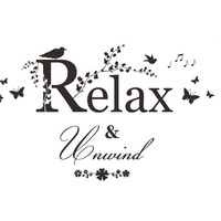 Newest Relax And Unwind Black Wall Sticker Removable Decor Decal Quote DIY Bathroom Art PVC Vinyl Super Quality