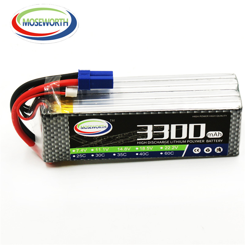 22.2V 6S 3300mAh 60C Lipo Battery For RC Quadcopter Helicopter Drone Boat Car Airplane Remote Control Toy Lithium Li-ion Battery tcbworth 11 1v 3300mah 60c 120c 3s rc lipo battery for rc airplane helicopter quadrotor drone car boat truck li ion battery