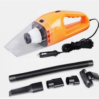 Portable Vacuum Cleaner Wet And Dry Car Dual Use With Power Of 120W 12V 5M Cable