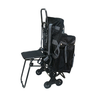 Image 5 - Multifunctional Folding Sketch Cart Painting Trolley Thickening Canvas Shoulders Bag Oil Drawing Chair Painting Supplies Art kit
