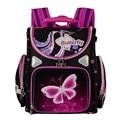 Orthopedic Breathable Children School Bags For Boys Girls Leather School Backpacks Motorbike Backpack Kids Satchel Mochila Infa