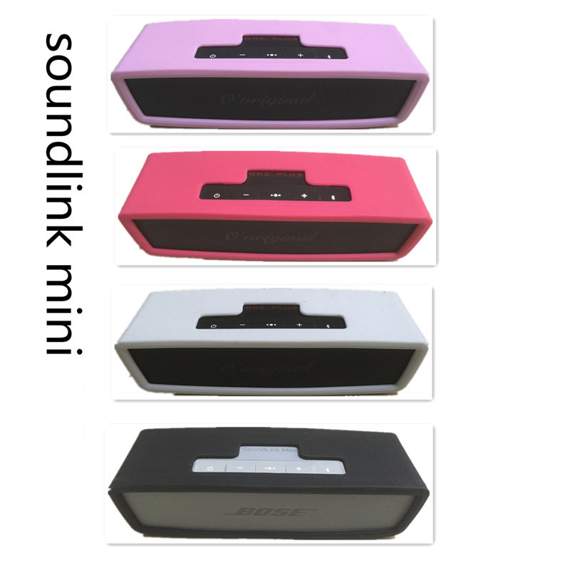 For Bose SoundLink Mini 1/ Mini 2 Bluetooth Speaker Soft Silicone Waterproof Dustproof Protective Case Cover High Quality