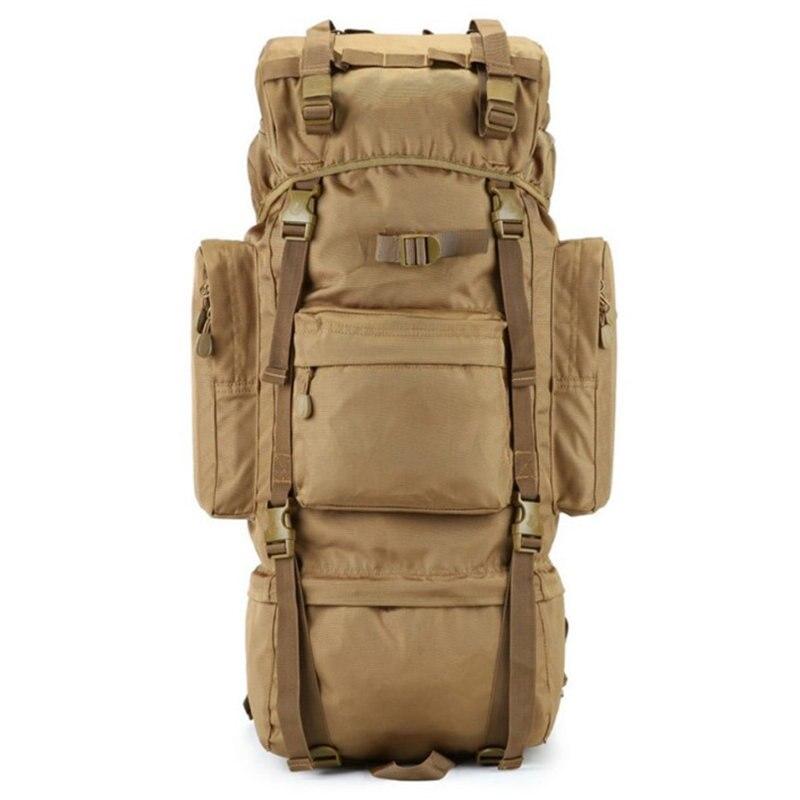 70L stents Métalliques multi-fonction étanche sac en nylon Hommes sacs militaire de grade élevé ultra-grand sac à dos de camouflage nouveau jouet