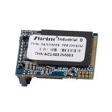 Zheino Новый SATA3 DOM 32 ГБ SSD промышленные диск на модуле SATAIII 6 ГБ/сек. 7 пальцы горизонтальные (угловой) обратный 270 градусов MLC DOM