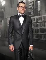 2017 последние пальто брюки Дизайн Черная шаль нагрудные индивидуальный заказ мужские Свадебный костюм формальный пиджак Slim Fit 3 предмета смо