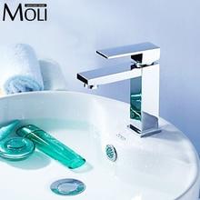 Messing wasserhahn einzigen handgriff chrom wasser mischbatterie für badezimmer-bassin-wannen deck montiert platz wasserhahn