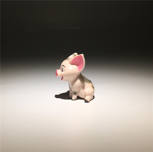 Image 2 - 24pieces 3.5cm pig PVC Action figure toys Adorable Collectible Model For Children Gift
