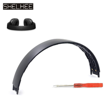 цена на SHELKEE Replacement top Headband pad cushion spare parts for Beats Solo2 Solo2.0 Wired / Wireless headphone repair parts