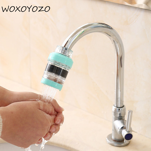 Superb 1Pc Plastic 3 Colors Faucet Filter Connector For Kitchen Mini Faucet Tap  Filter Water Cleaning Purifier