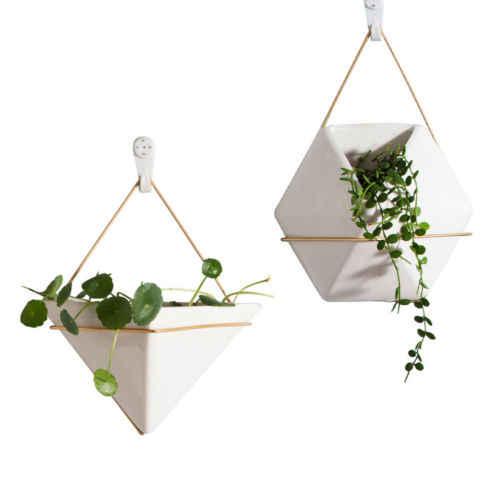 Горячие настенные Висячие зеленые растения сеялка цветочный горшок держатель орнамент Ваза Корзина Декор для дома