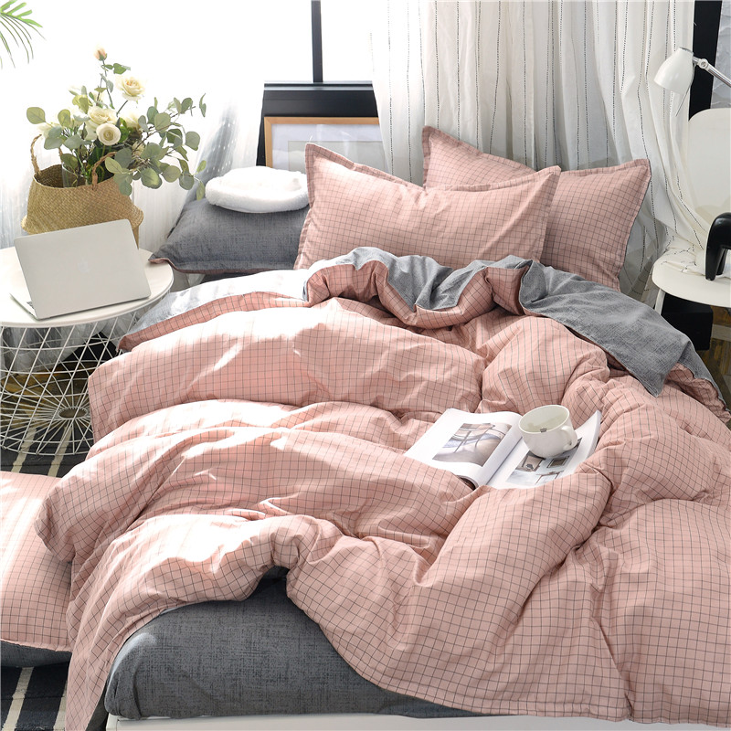Image 4 - Planet Printing Bedding Set Skin friendly Pillowcase Flat Sheet Duvet Cover Set AB Side Kids Bedding 3/4pcs-in Bedding Sets from Home & Garden