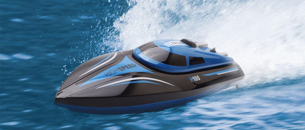 Skytech H100 RC Boat 2.4GHz 4 Channel 30kmh Racing Remote Control Boat (2)