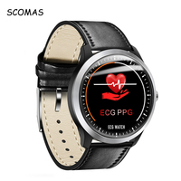 SCOMAS N58 ECG PPG Smart Watch 1.22IPS With Electrocardiograph ECG Display Heart Rate Blood Pressure Monitor Smartwatch