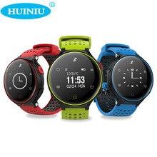 Huiniu X2 smart Сердечного ритма Мониторы Приборы для измерения артериального давления умный Браслет Водонепроницаемый часы Шагомер smartband для iOS и Android