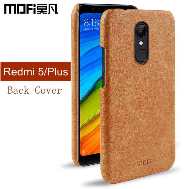 new arrival 746bf dc541 US $9.99 |Aliexpress.com : Buy Xiaomi Redmi 5 Plus case Redmi 5 back cover  hard protect coque cases MOFi original luxury xiaomi Redmi5 Plus case capas  ...