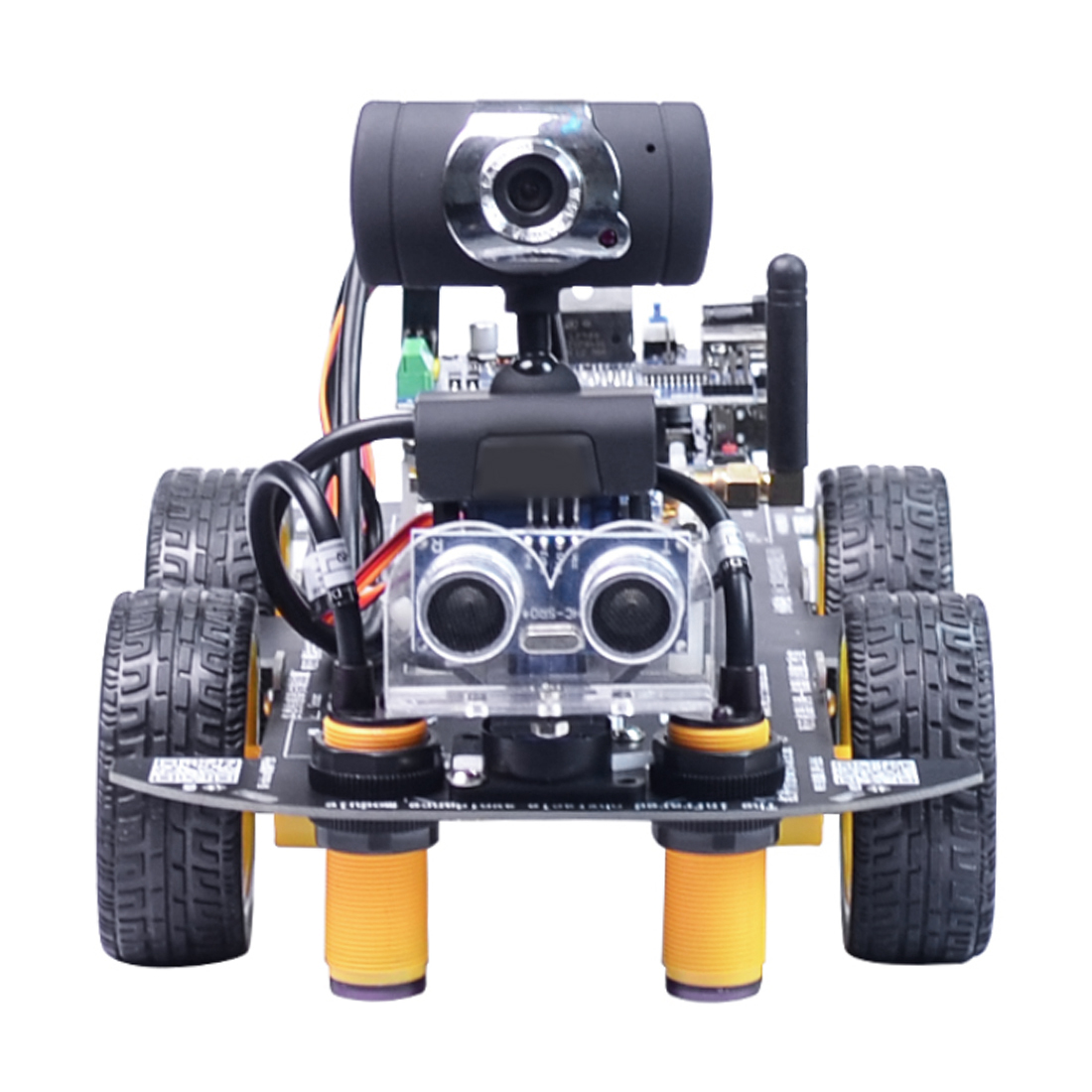 Programmable Robot DIY Wifi + Bluetooth Steam Educational Car With Graphic Programming XR BLOCK Linux Toys Games